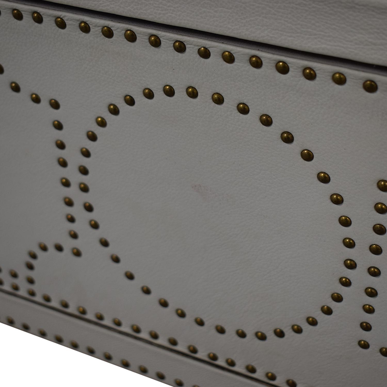 shop Restoration Hardware Nailhead Upholstered Dresser Restoration Hardware Dressers