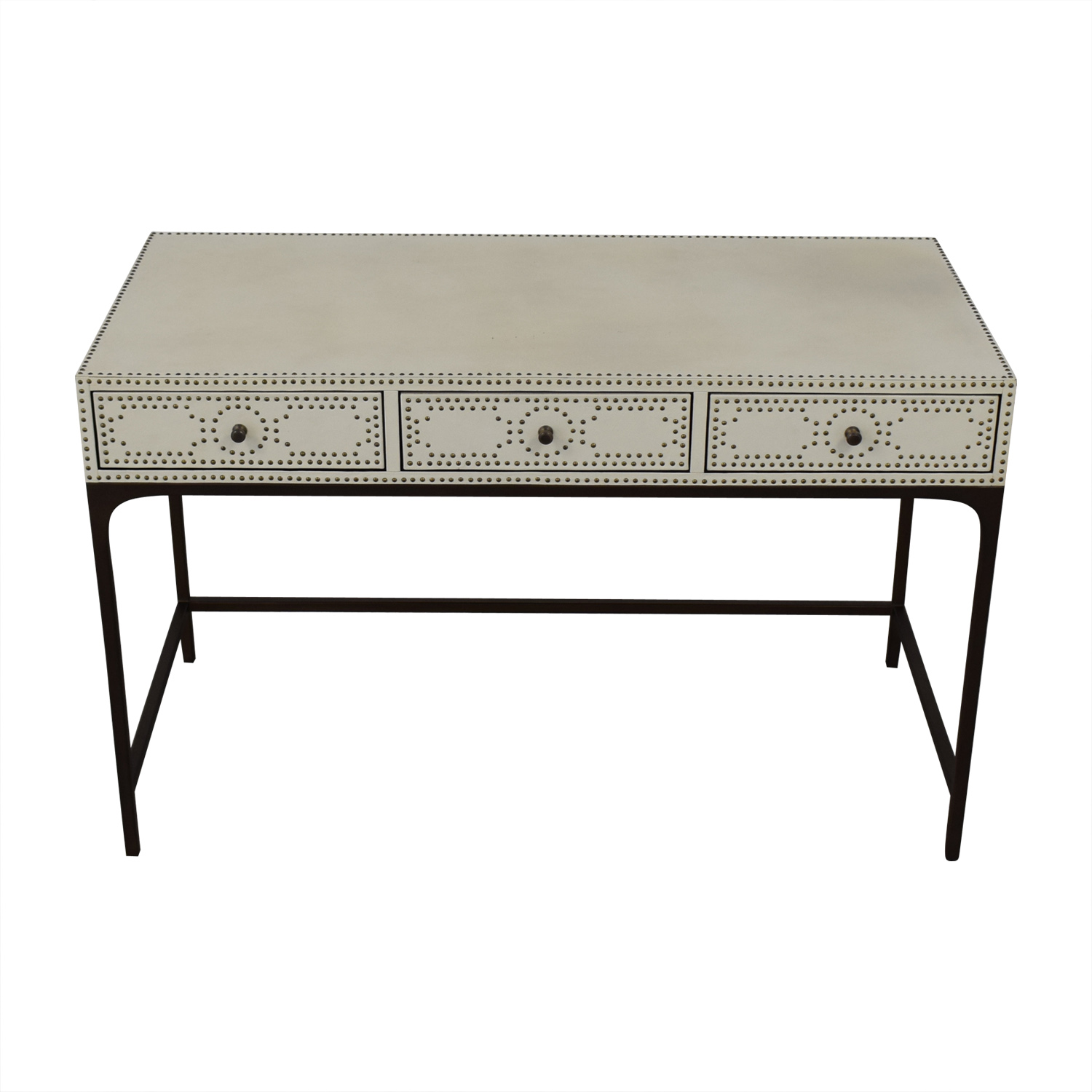 shop Restoration Hardware Restoration Hardware Nailhead Upholstered Desk online