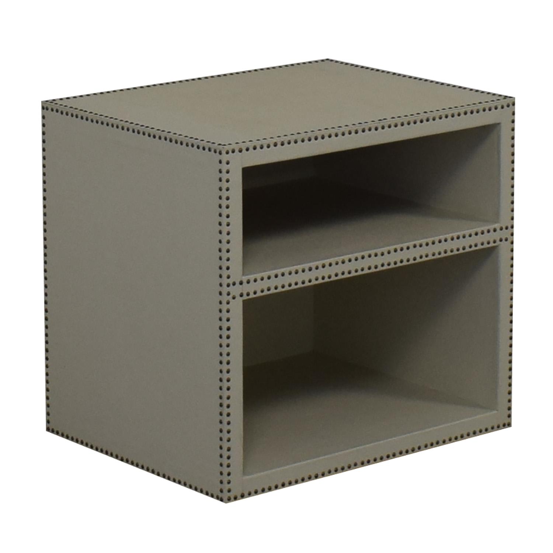 Restoration Hardware Nailhead End Table / Tables