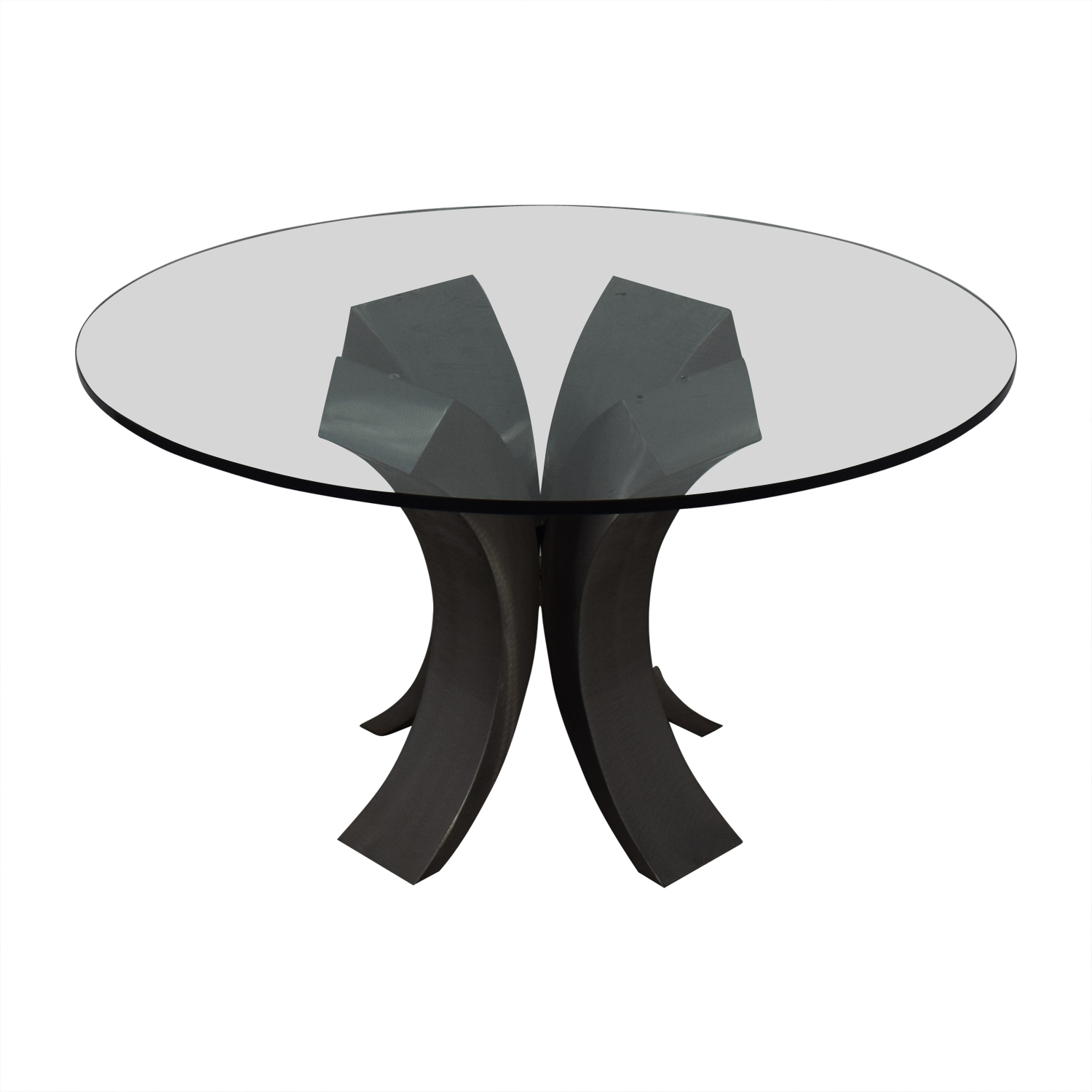 buy Custom Made Glass Dining Table  Dining Sets