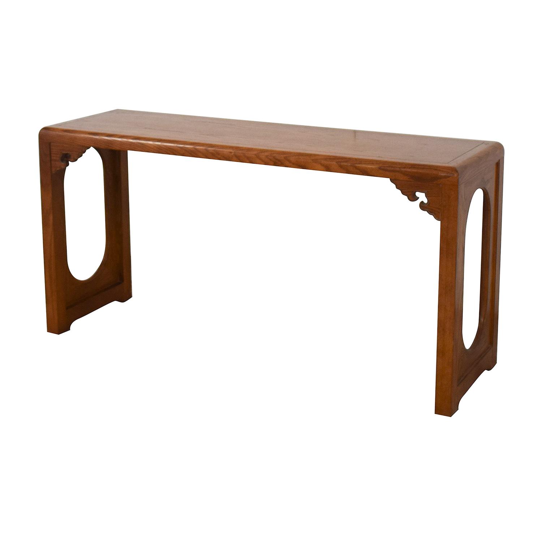Vintage Entryway Console Table