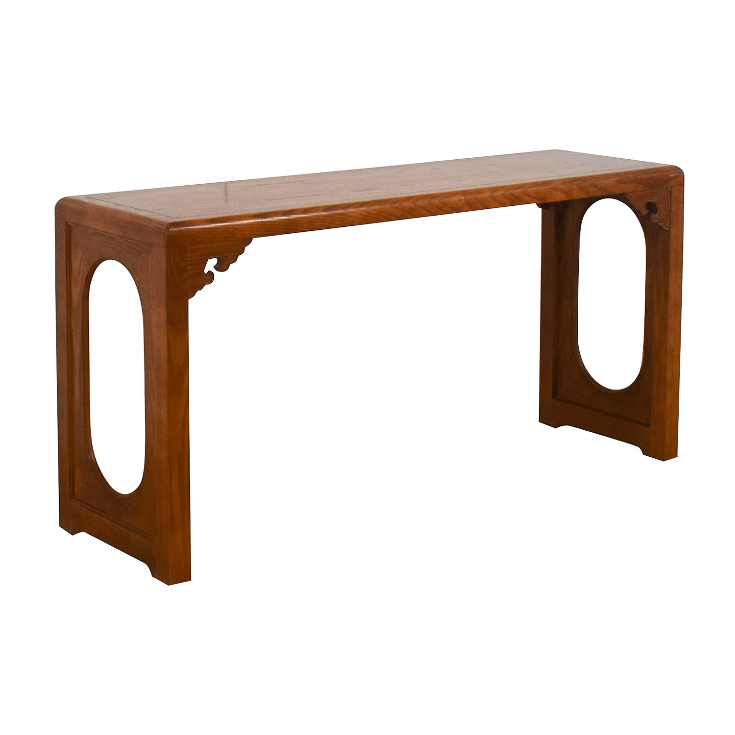 87% OFF   Vintage Entryway Console Table / Tables