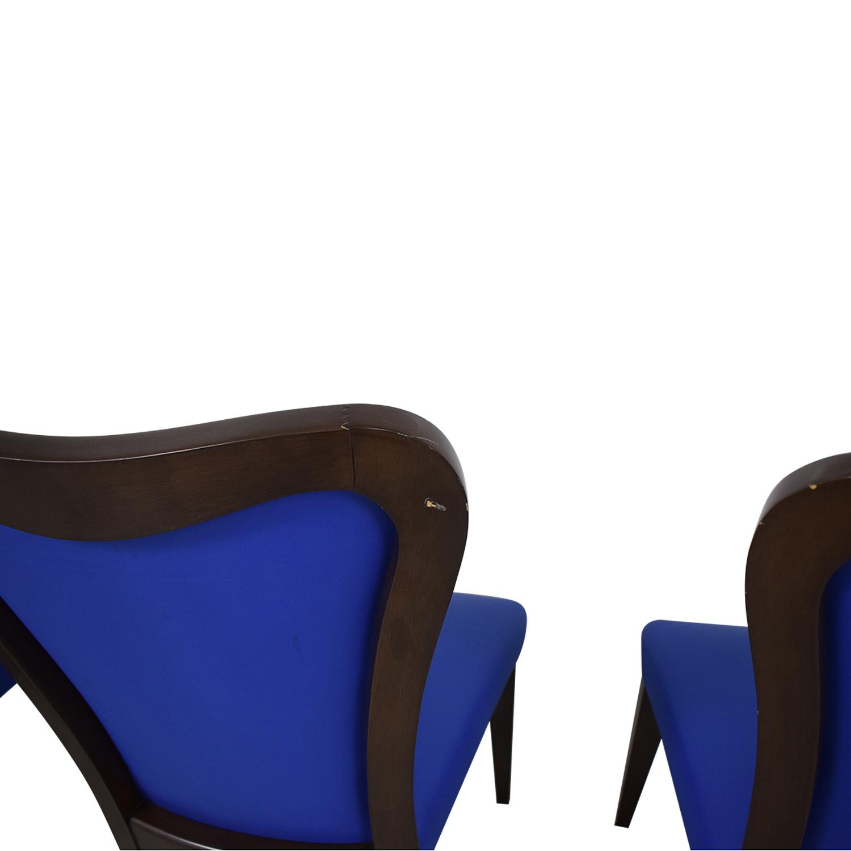 buy Geoffrey Bradfield Geoffrey Bradfield Blue Dining Chairs online