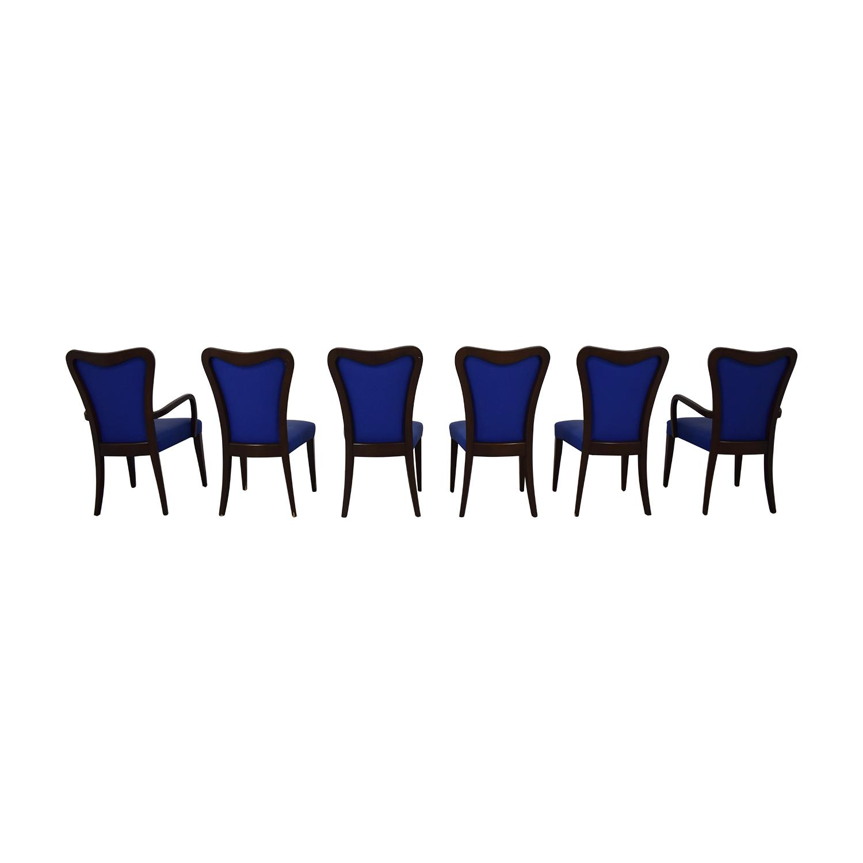 buy Geoffrey Bradfield Blue Dining Chairs Geoffrey Bradfield Dining Chairs