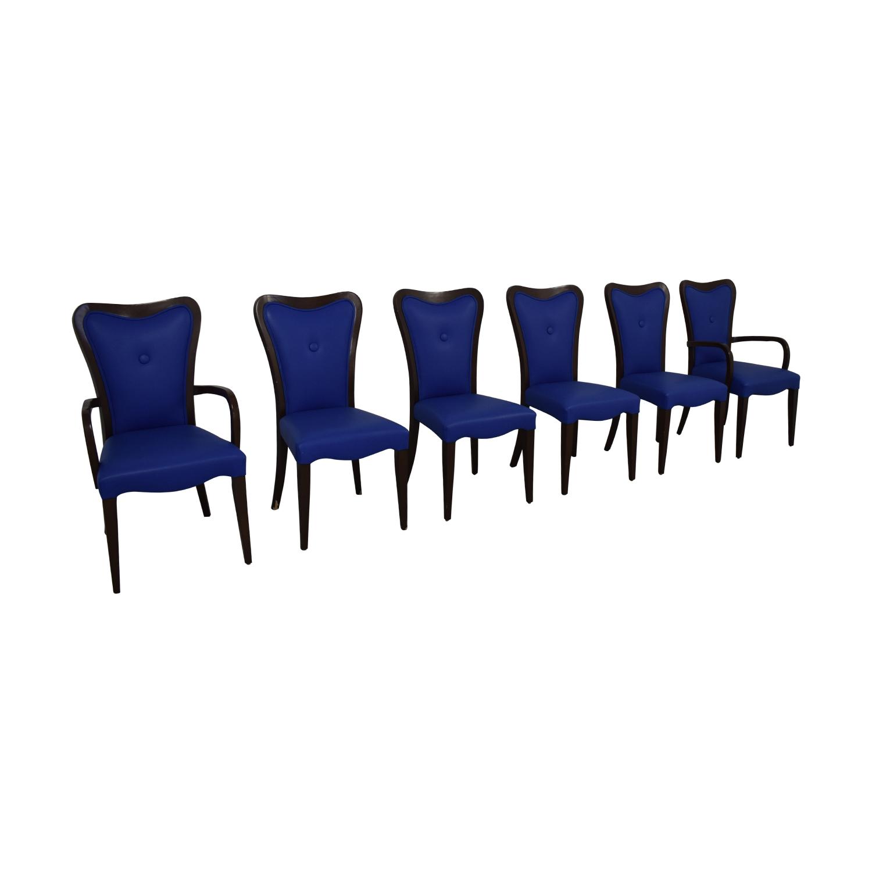 Geoffrey Bradfield Geoffrey Bradfield Blue Dining Chairs price
