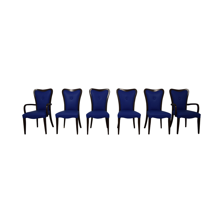 buy Geoffrey Bradfield Blue Dining Chairs Geoffrey Bradfield Chairs