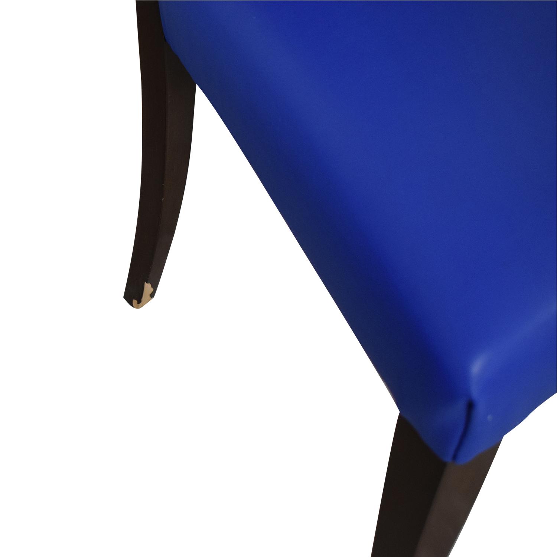 shop Geoffrey Bradfield Blue Dining Chairs Geoffrey Bradfield Dining Chairs