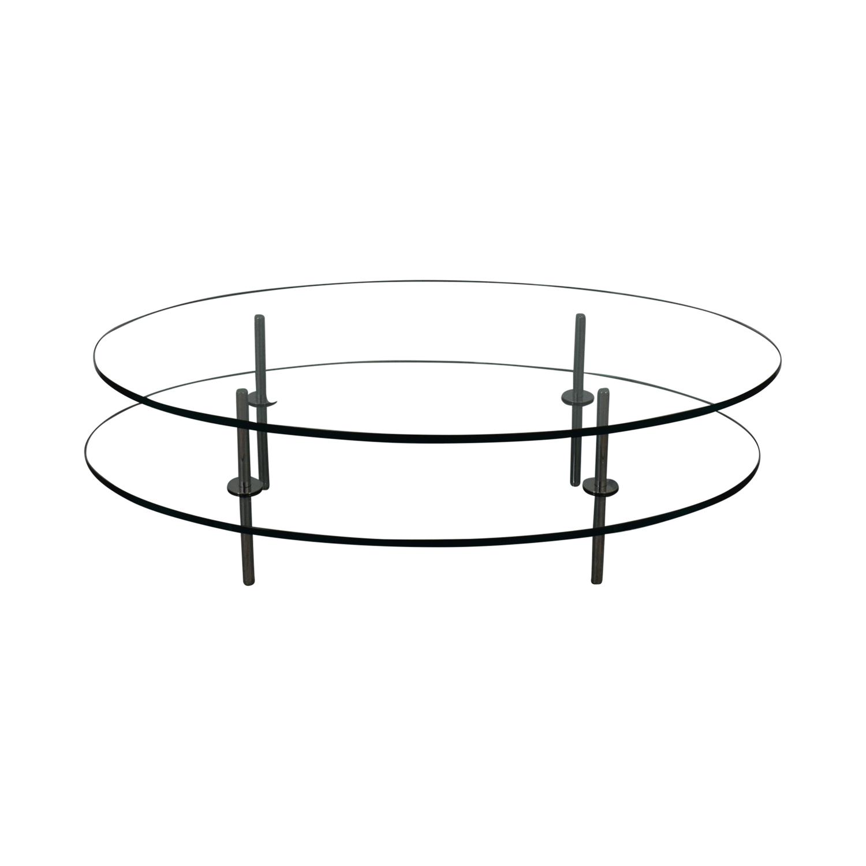 Geoffrey Bradfield Geoffrey Bradfield Glass Coffee Table Coffee Tables