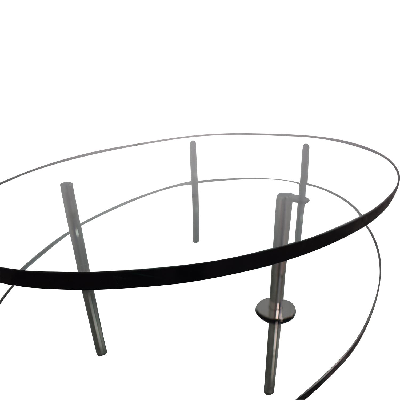 buy Geoffrey Bradfield Glass Coffee Table Geoffrey Bradfield