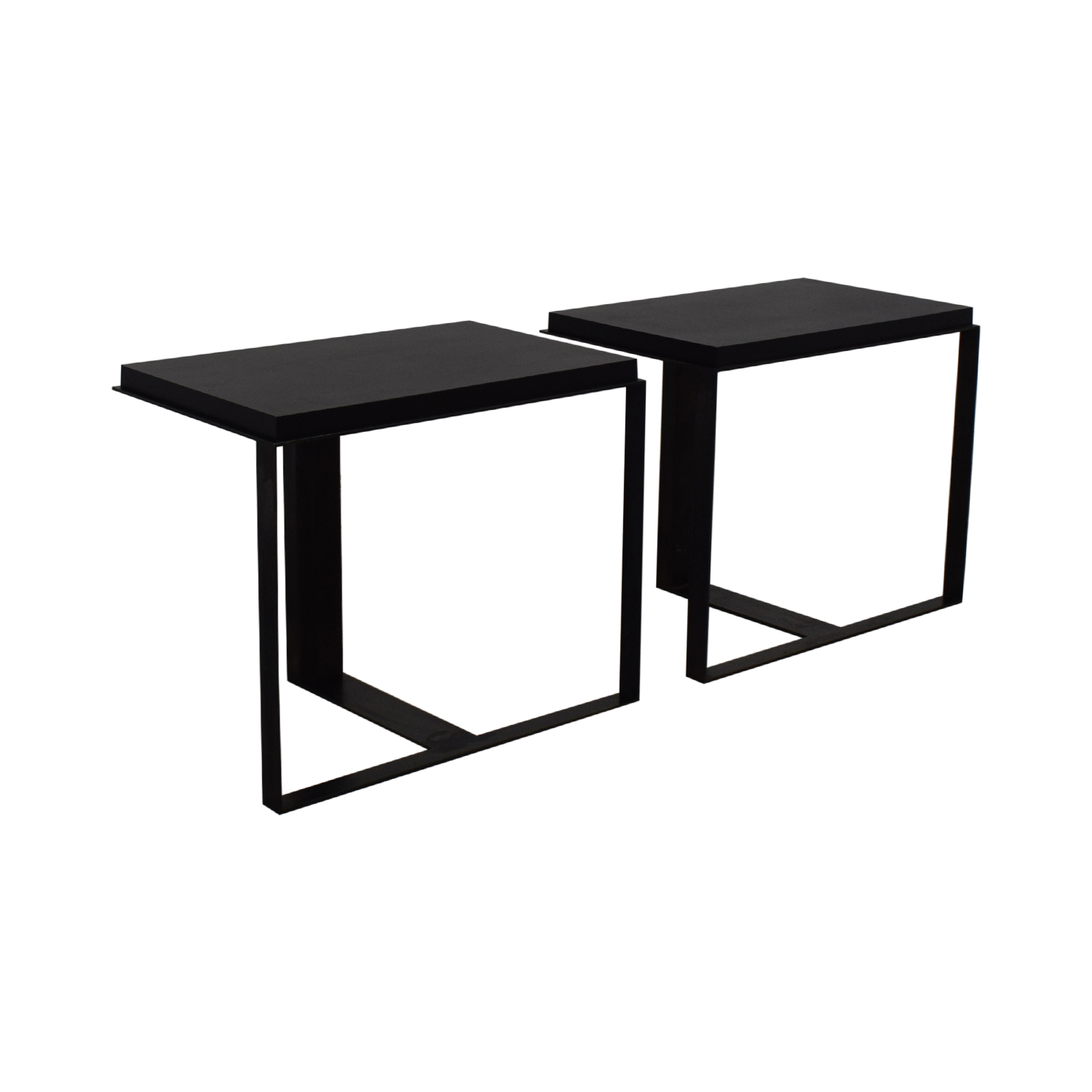 buy Black Metallic End Tables  End Tables