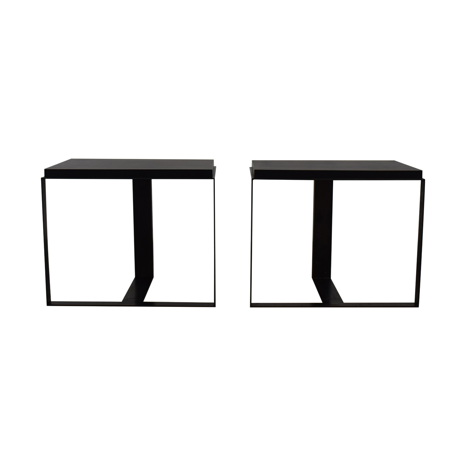 buy Black Metallic End Tables  Tables