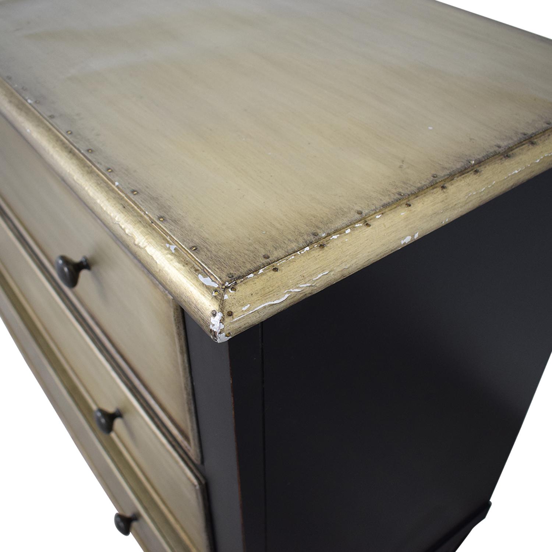 buy Hooker Furniture Two-Tone Aluminium Wrap & Black Chest Hooker Furniture Storage