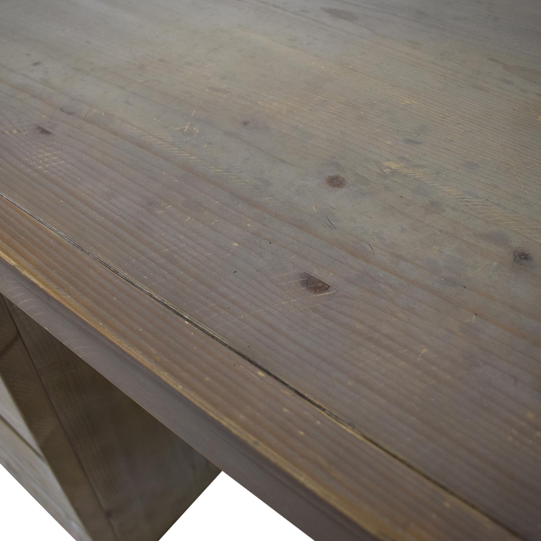 Restoration Hardware Restoration Hardware Rustic Desk dimensions