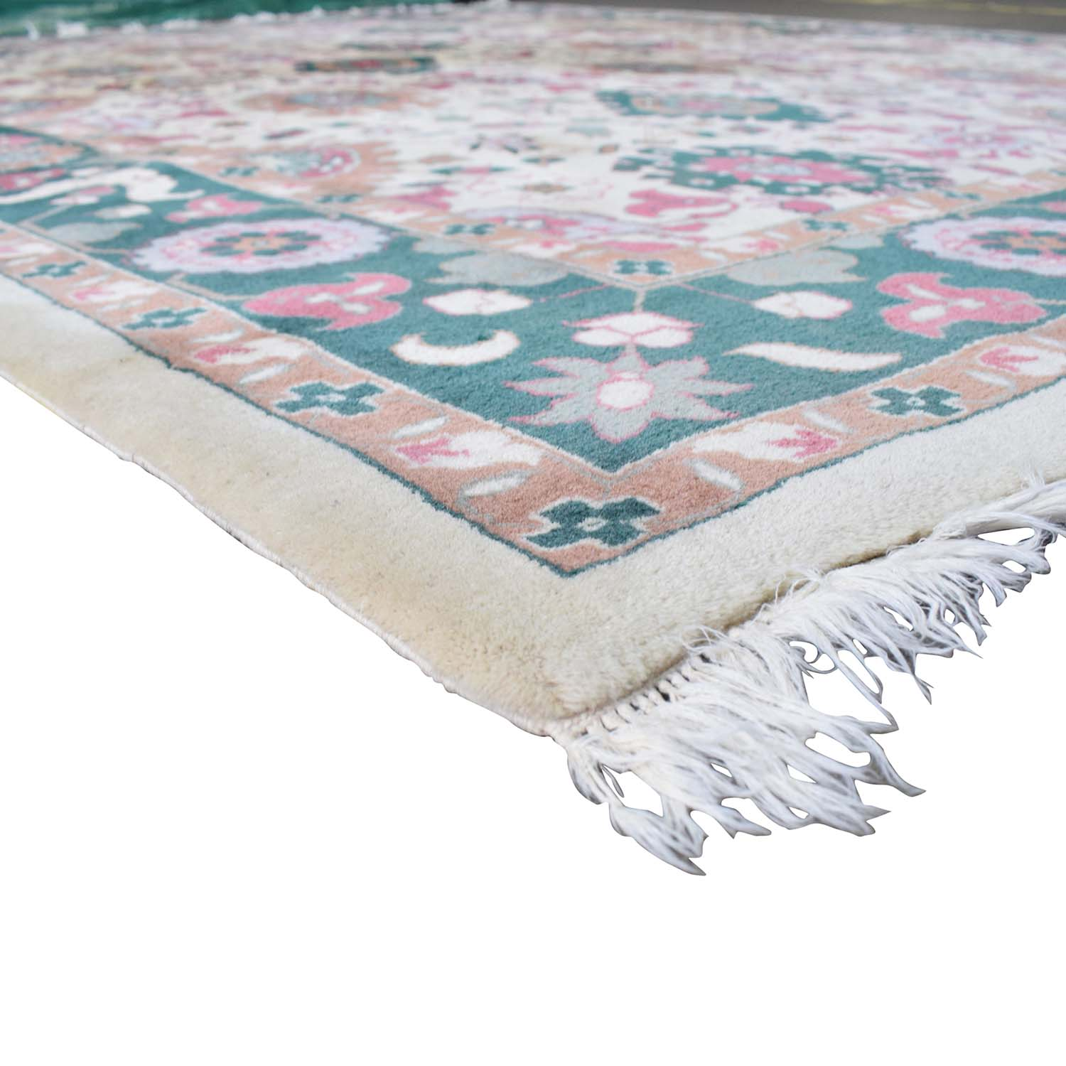 buy Decorative Pure Wool Pile Rug  Decor