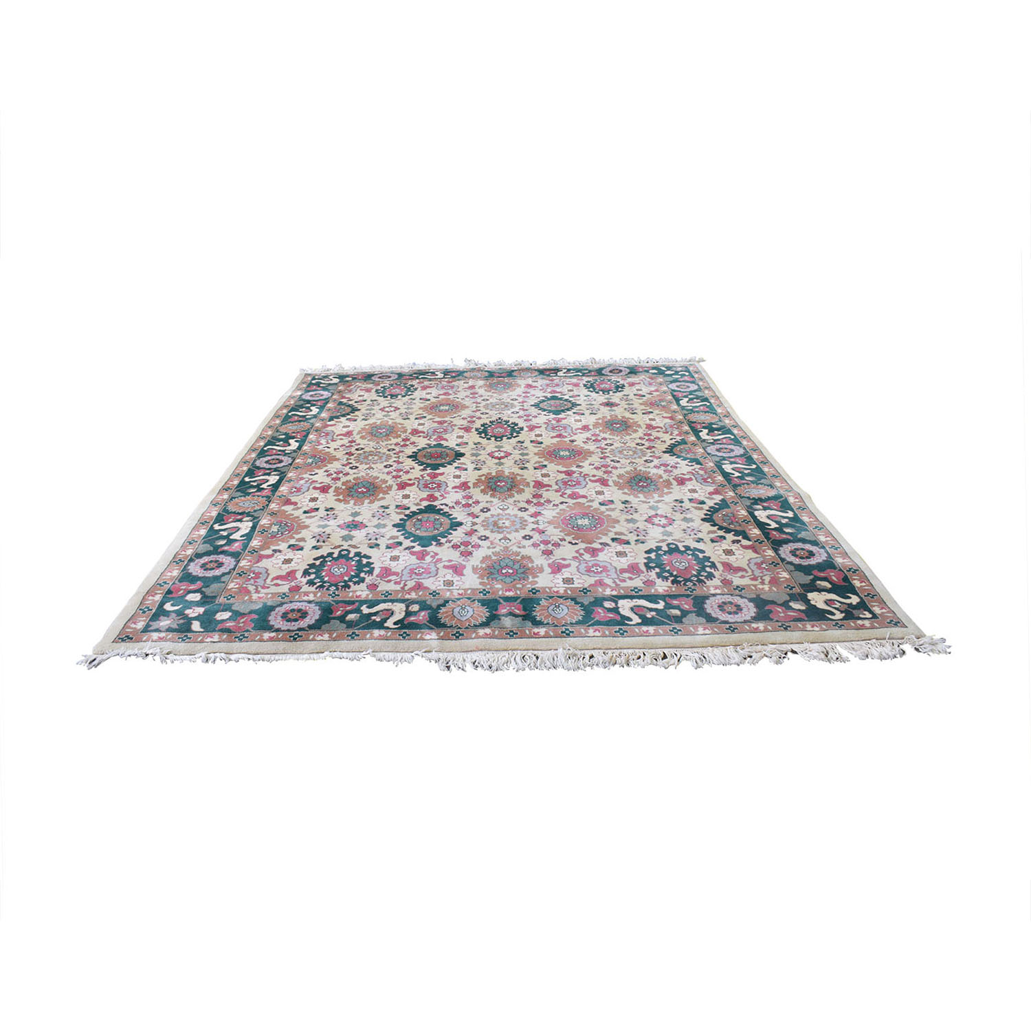 buy Decorative Pure Wool Pile Rug