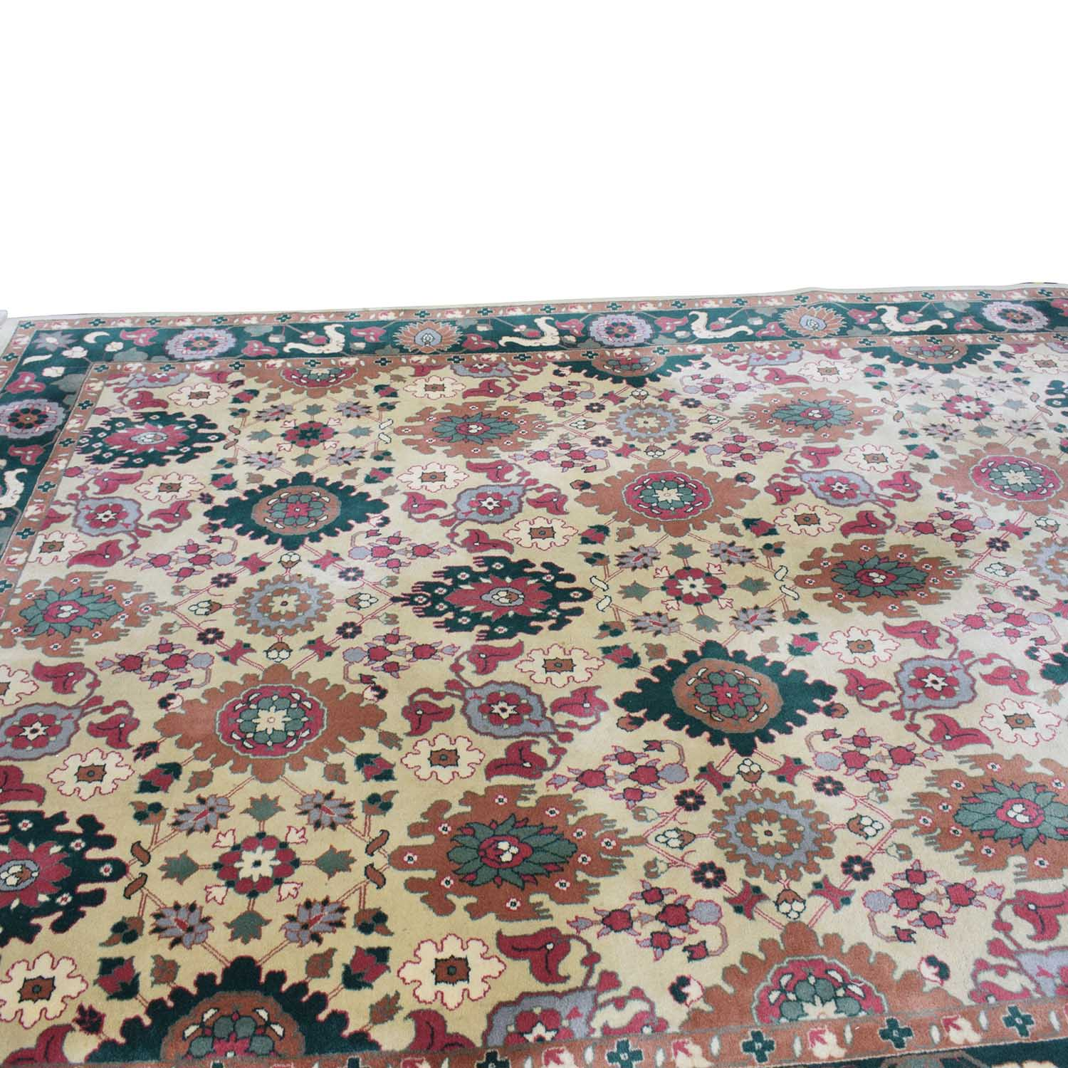 Decorative Pure Wool Pile Rug coupon