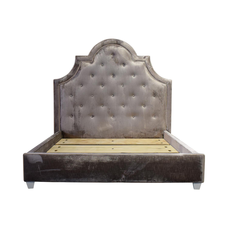 Jonathan Adler Jonathan Adler Woodhouse Queen Bed Frame discount