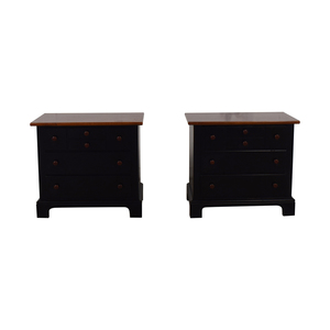 Stanley Furniture Stanley Furniture Three-Drawer Nightstands dimensions
