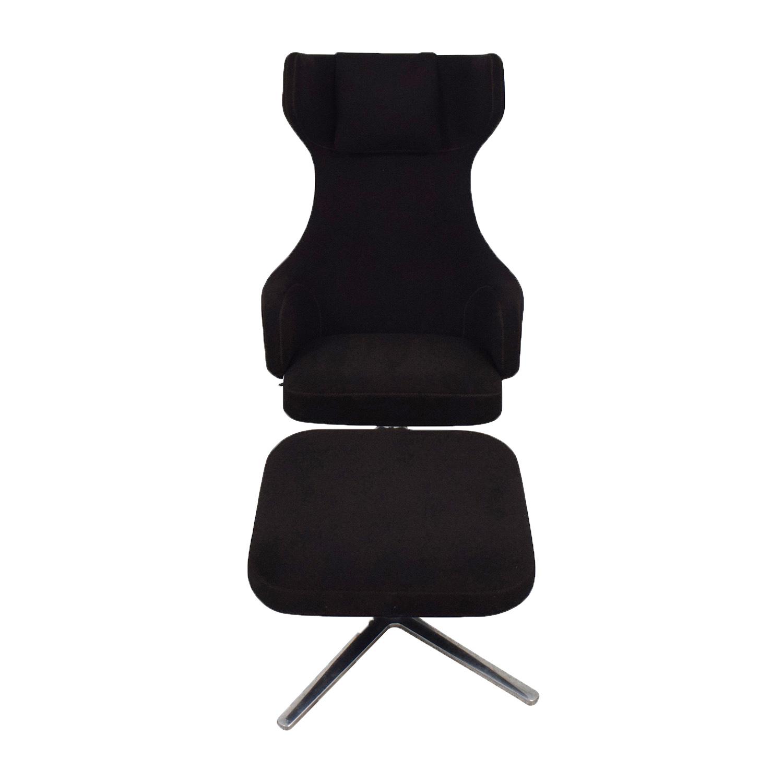 Poltrona Grand Repos Vitra.67 Off Vitra Vitra Grand Repos Lounge Chair And Ottoman Chairs