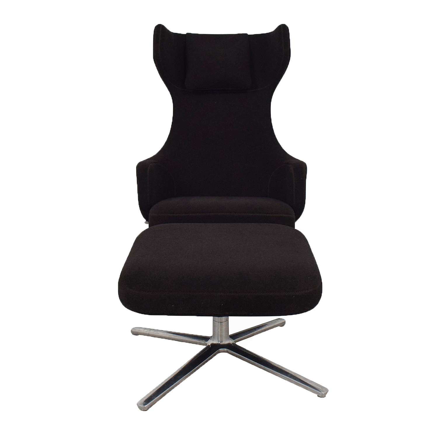 buy Vitra Grand Repos Lounge Chair and Ottoman Vitra Accent Chairs