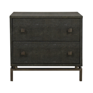 CB2 Shagreen Embossed Nightstand CB2