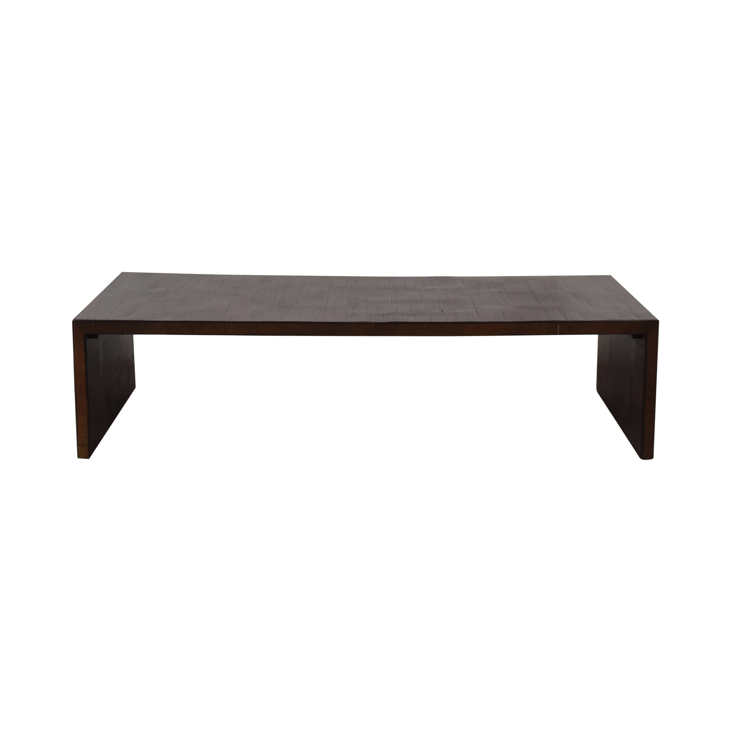 Low Brown Coffee Table