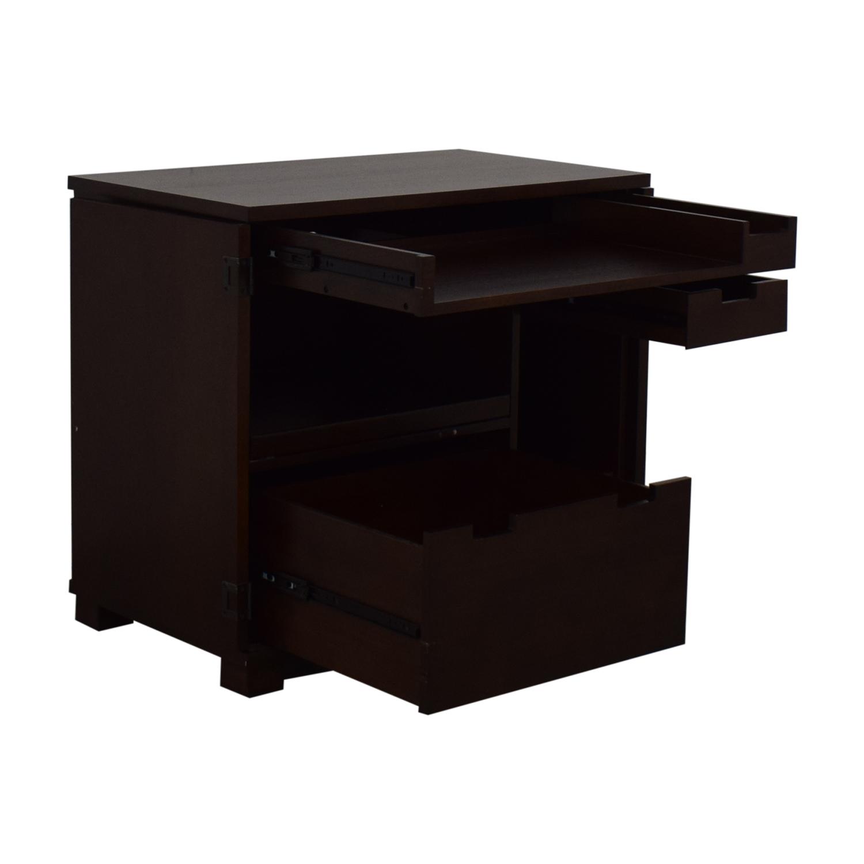 Crate & Barrel Crate & Barrel Incognito Desk Utility Tables