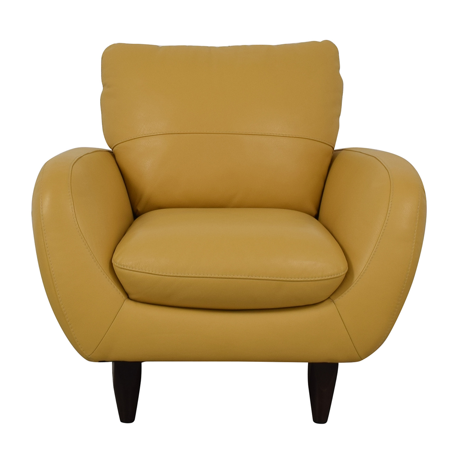 Macy's Macy's Italsofa Aquila Accent Chair for sale