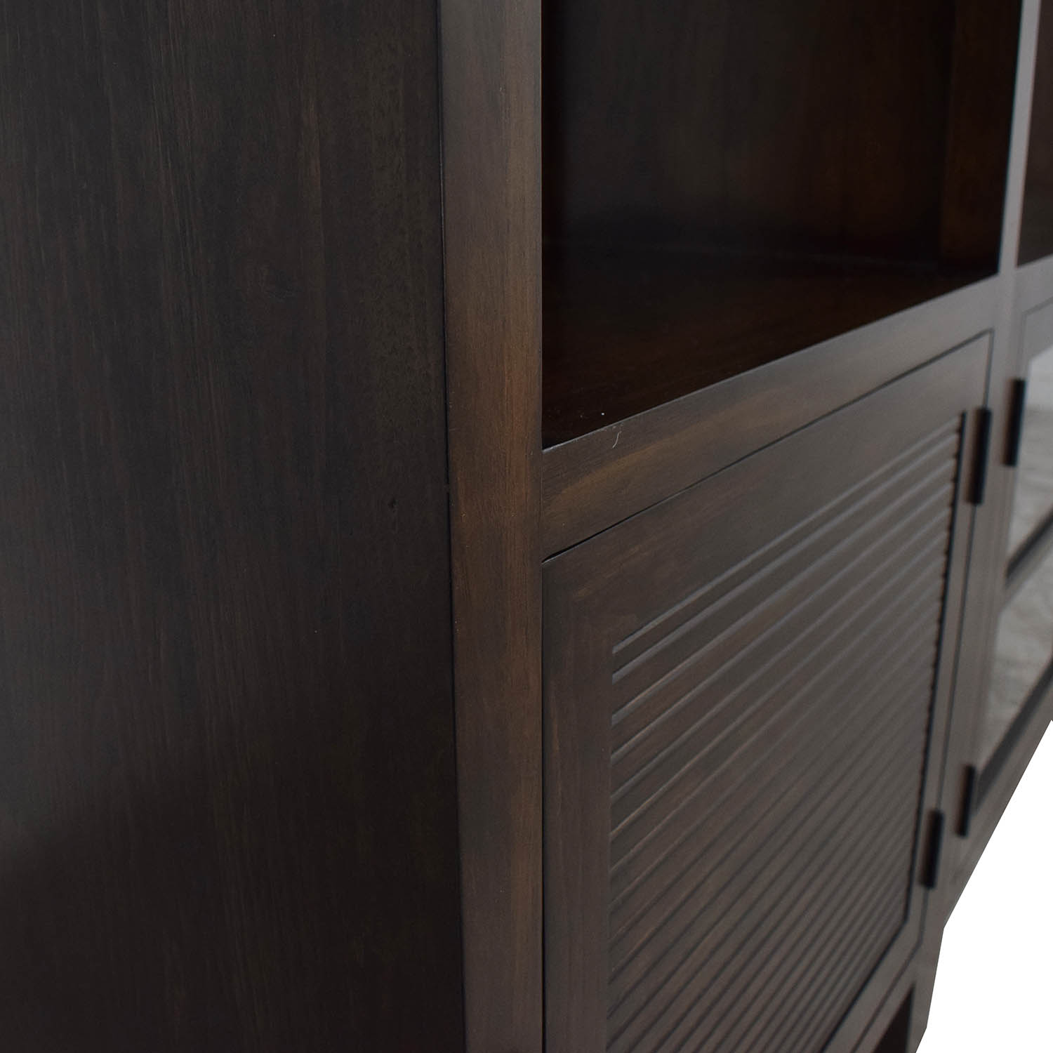 Crate & Barrel Crate & Barrel Media Console with Two Media Towers coupon
