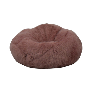 Pink Fuzzy Bean Bag Chair second hand