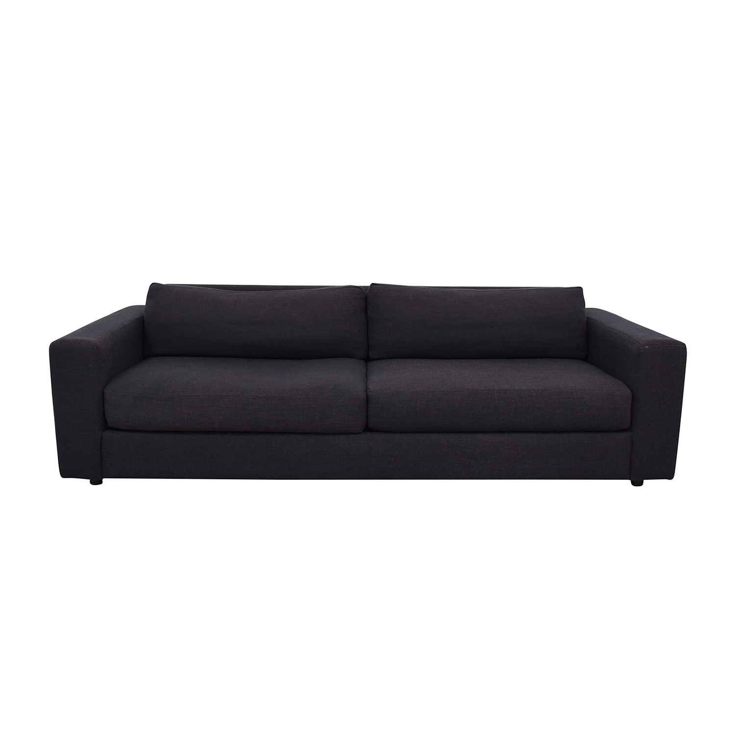 West Elm West Elm Charcoal Sofa for sale