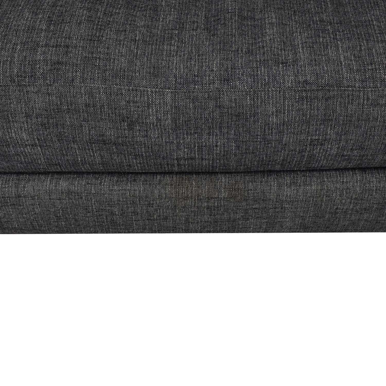 CB2 CB2 Gray Sofa second hand
