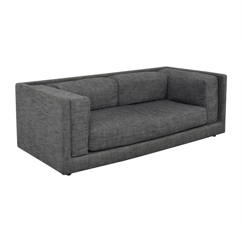CB2 CB2 Gray Sofa Sofas