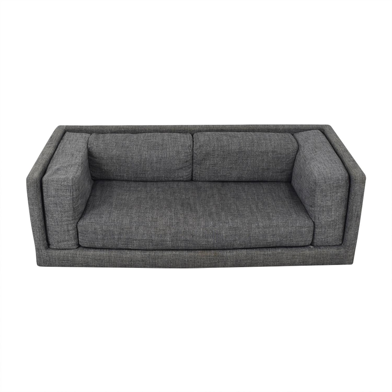 CB2 CB2 Gray Sofa