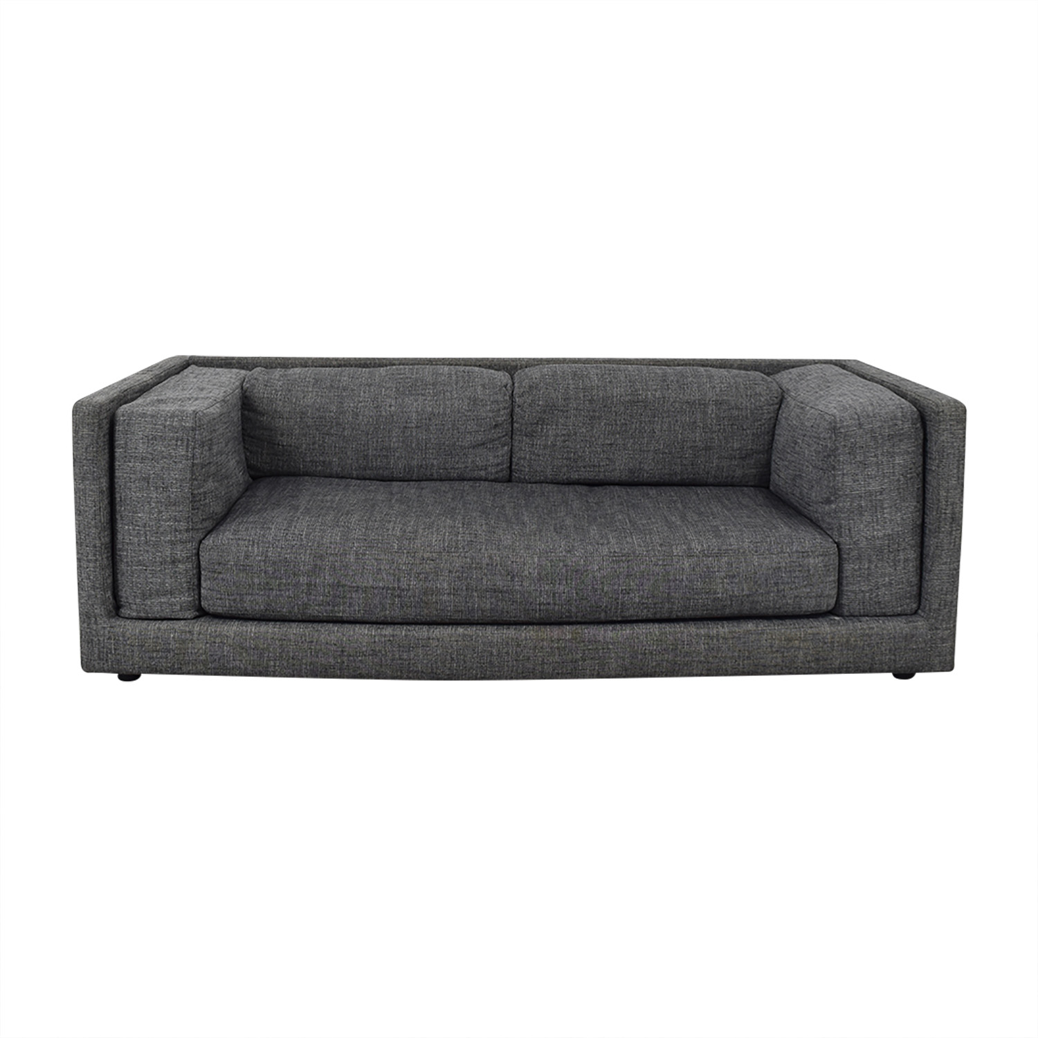 CB2 CB2 Ultra-Low Tuxedo Sofa on sale
