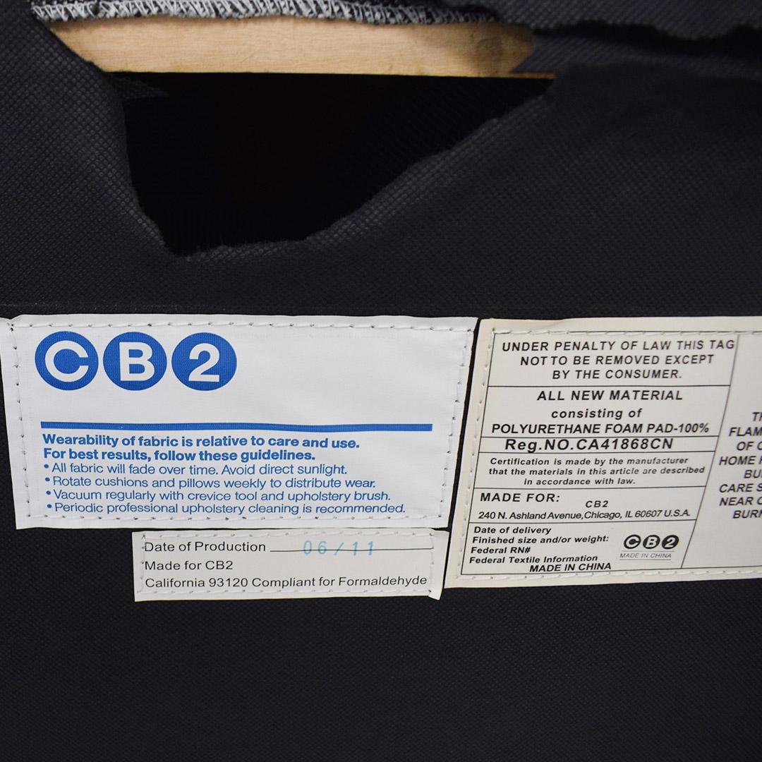 CB2 CB2 Gray Sofa on sale