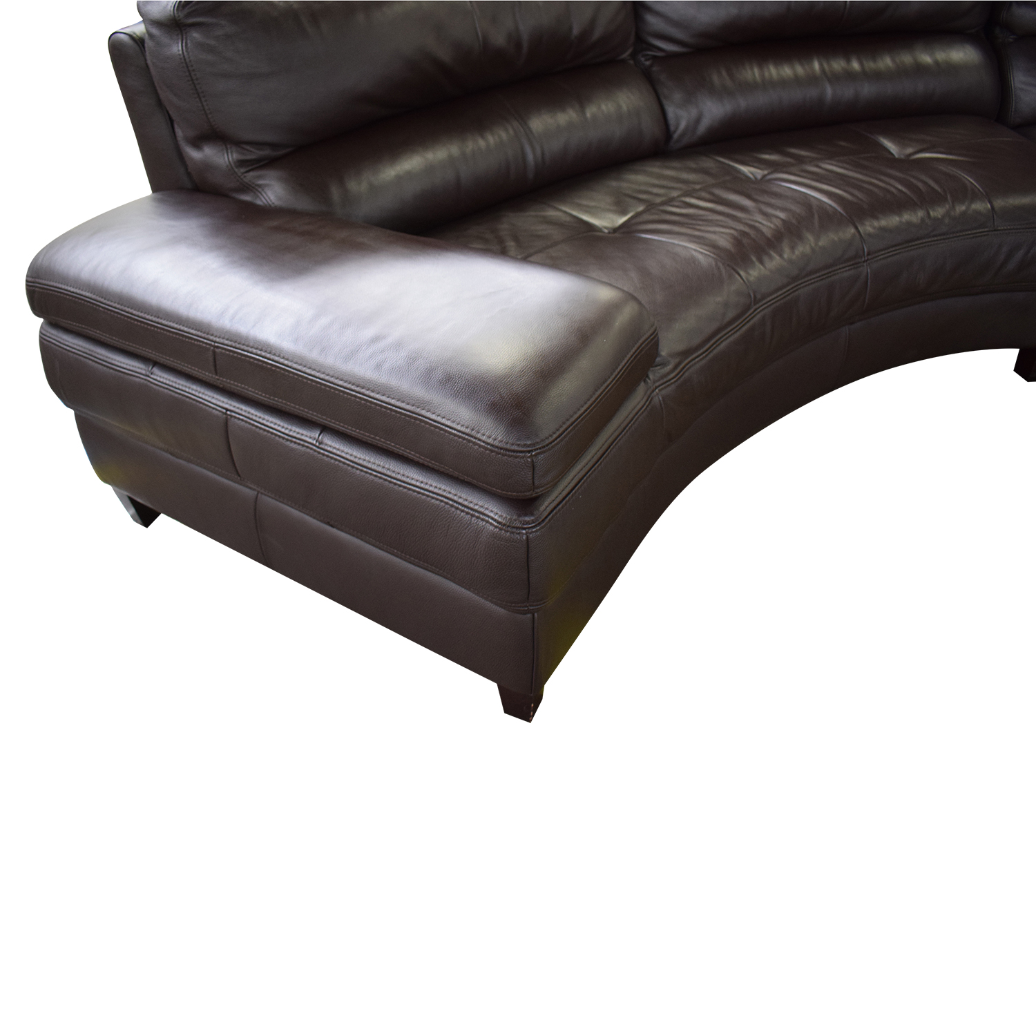 Three Piece Curved Sectional nj