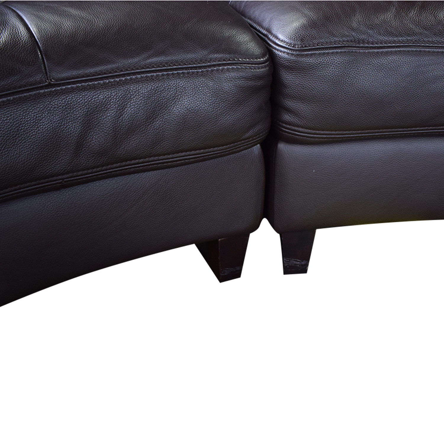 Three Piece Curved Sectional dimensions