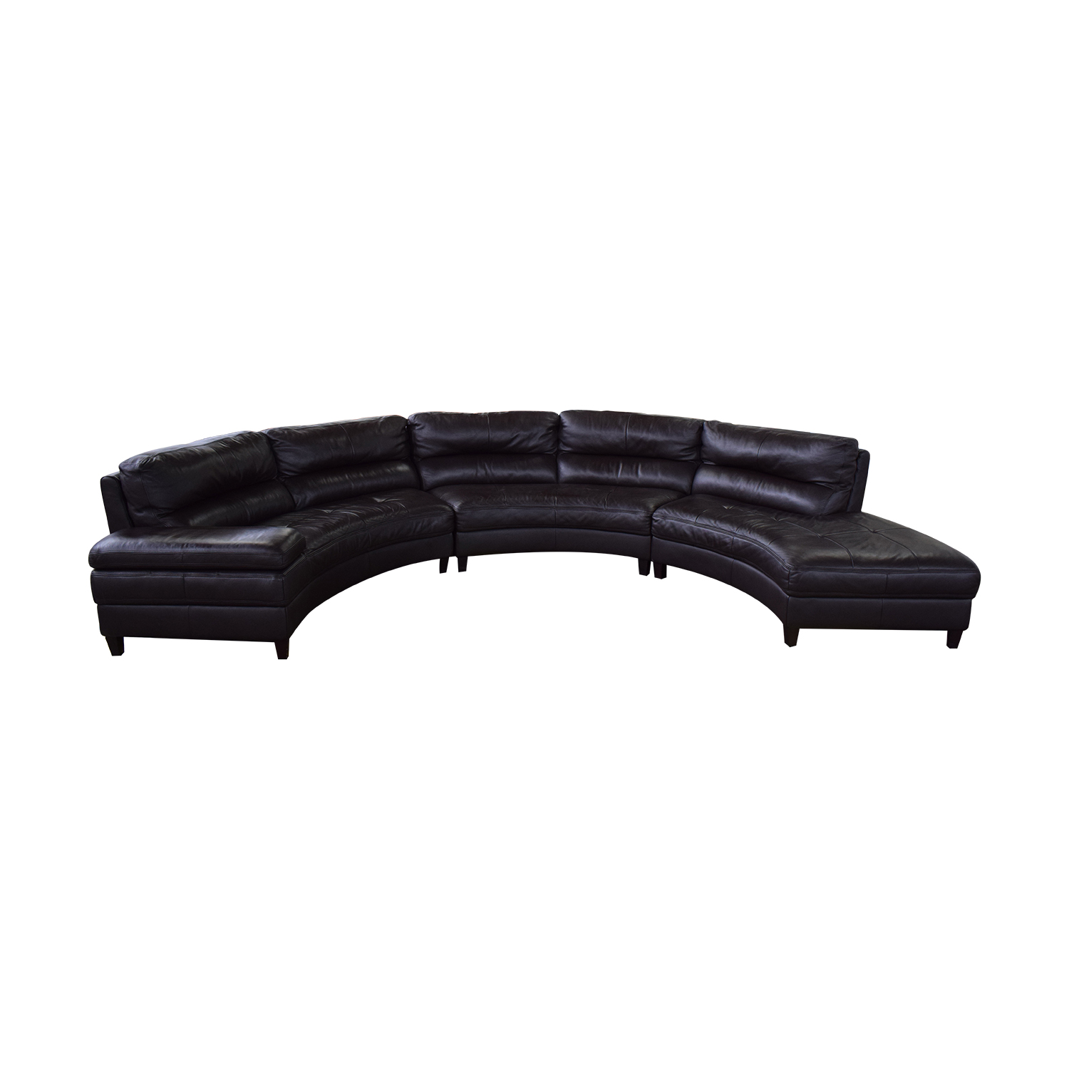 buy Three Piece Curved Sectional