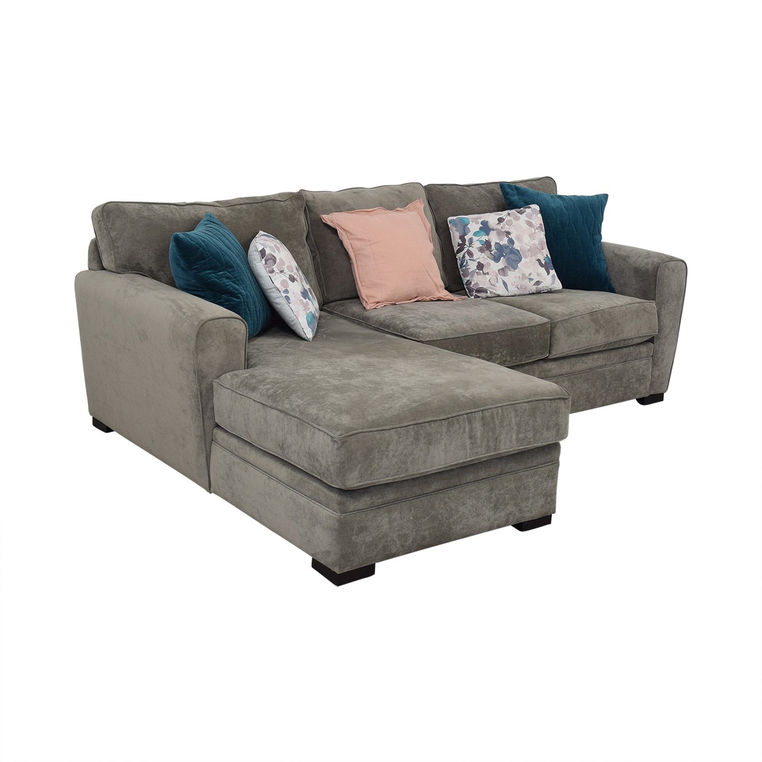 Raymour & Flanigan Two Piece Sectional Raymour & Flanigan