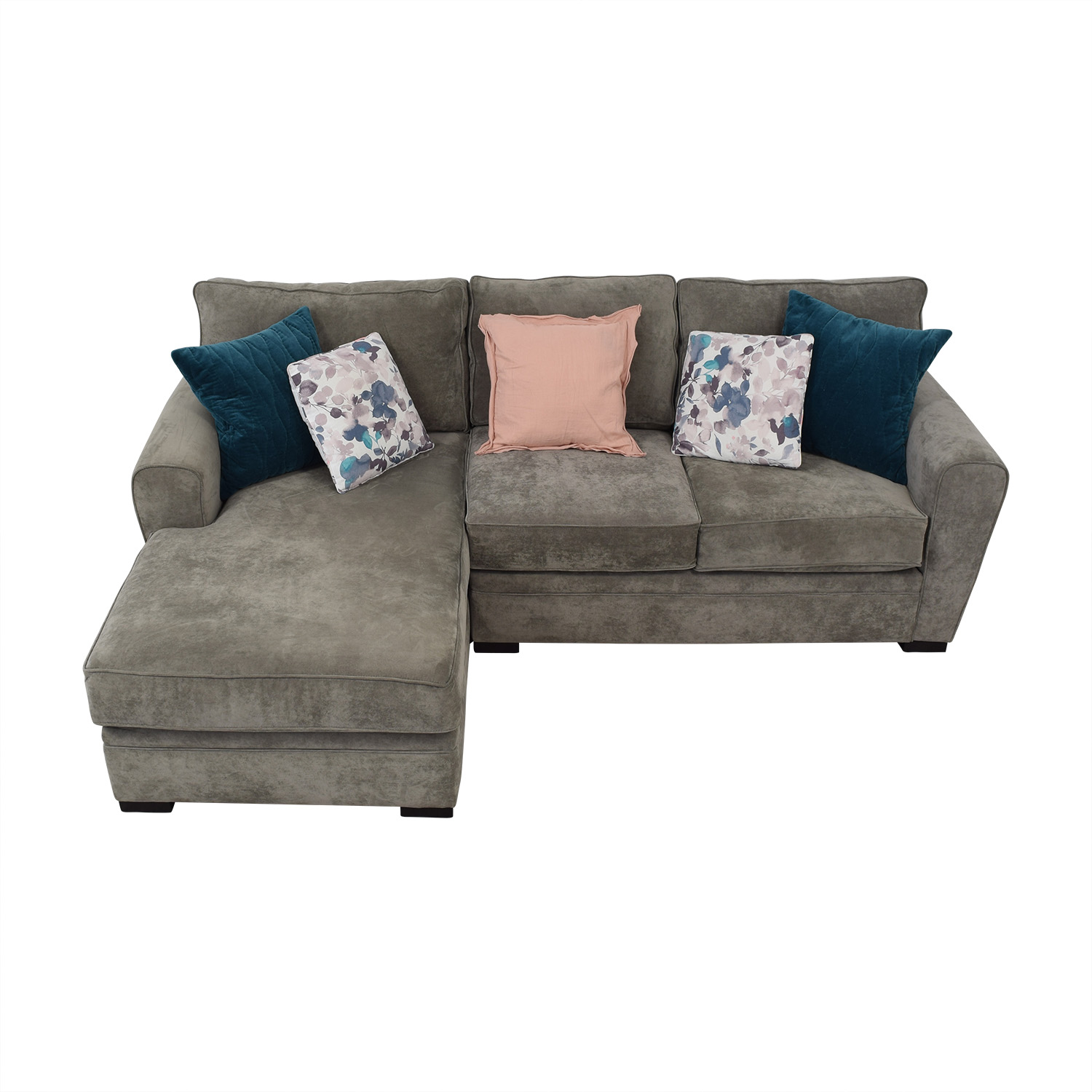 Raymour & Flanigan Raymour & Flanigan Two Piece Sectional