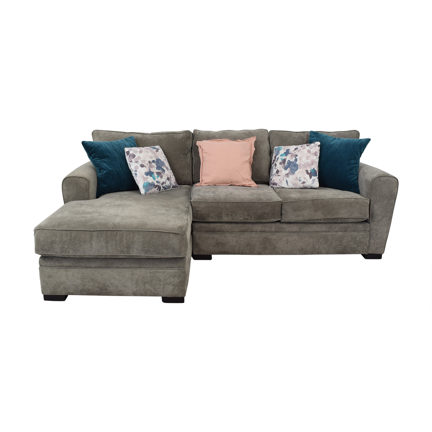 Raymour & Flanigan Raymour & Flanigan Two Piece Sectional Sofas
