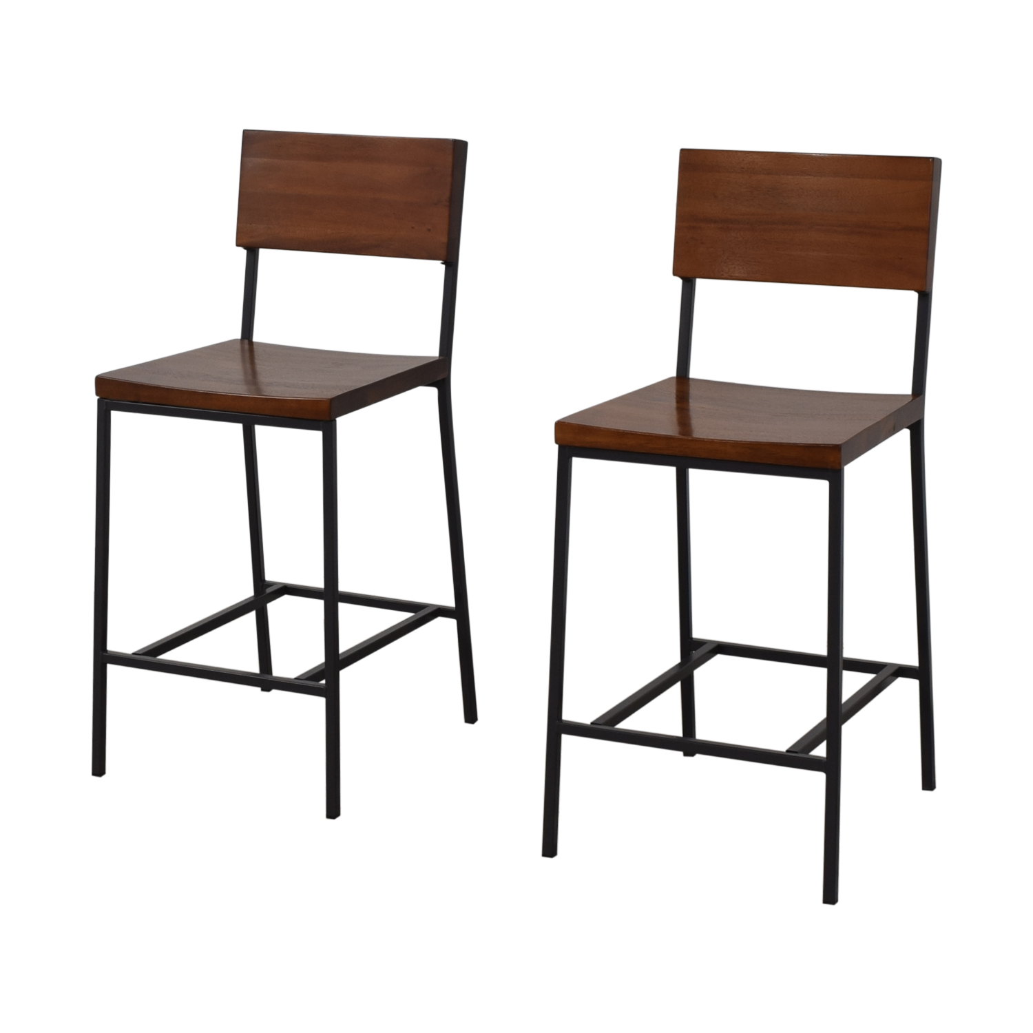 West Elm Rustic Counter Stool West Elm
