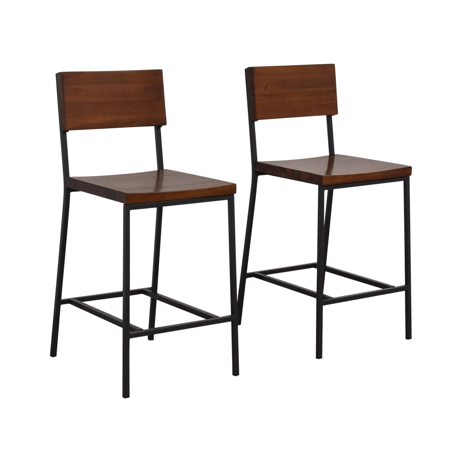 West Elm Rustic Counter Stool / Chairs