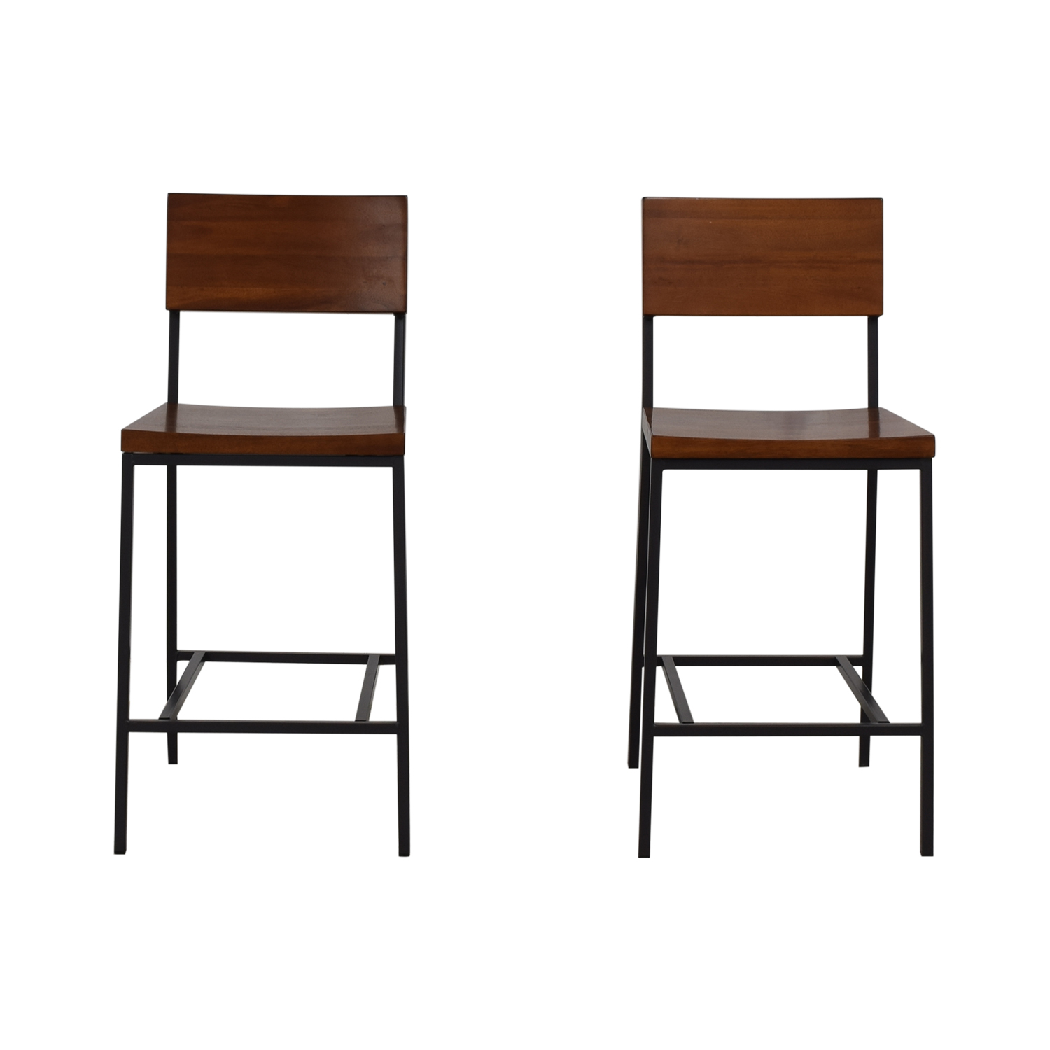 shop West Elm Rustic Counter Stool West Elm Chairs