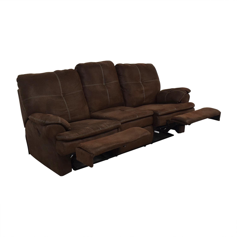 Raymour & Flanigan Raymour & Flanigan Reclining Sofa on sale