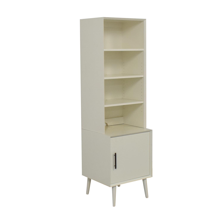 West Elm West Elm Mid-Century Bookcase in White