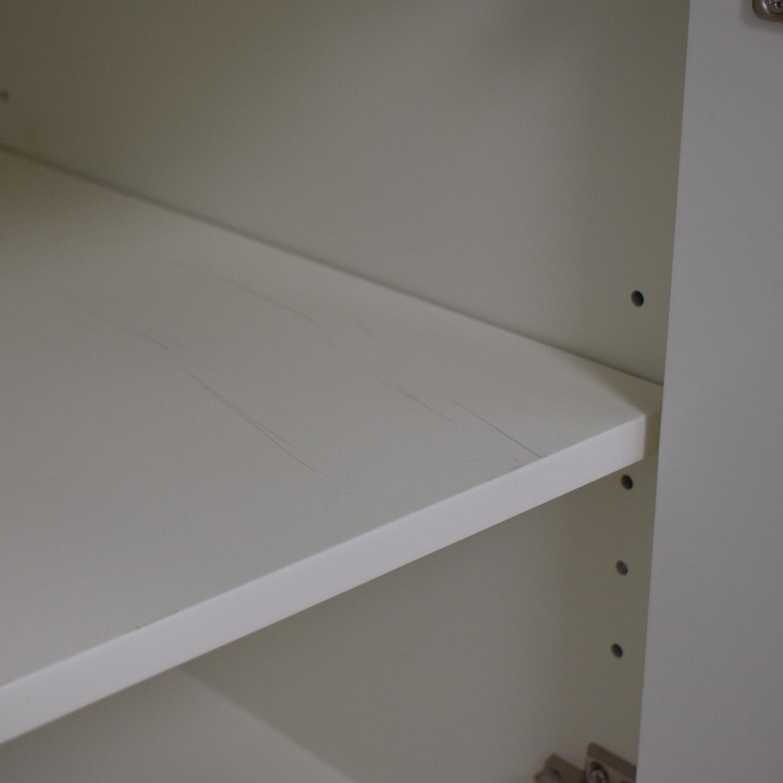 buy West Elm Mid-Century Bookcase in White West Elm
