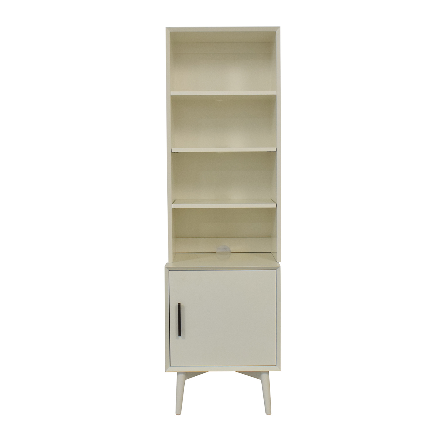 West Elm West Elm Mid-Century Bookcase in White second hand