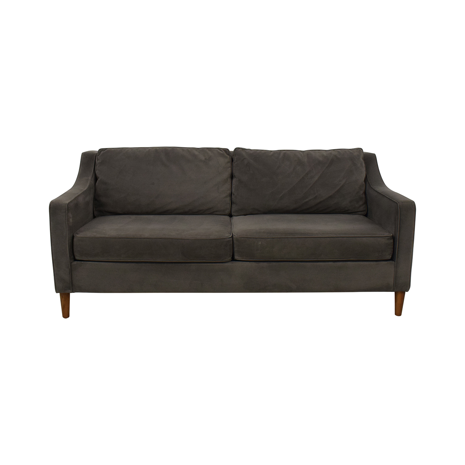 West Elm Paidge Velvet Sofa sale